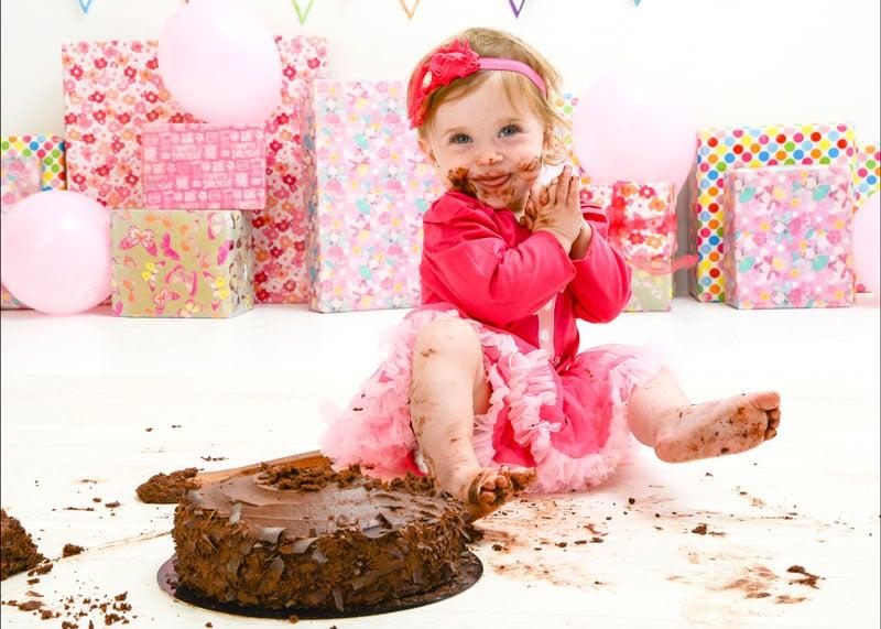 Cake Smash Photo Shoots Barnsley South Yorkshire 1st Birthday