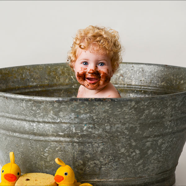 Baby Cake Smash Photography at Stan Plus Stan Two Photography Studio, South Yorkshire